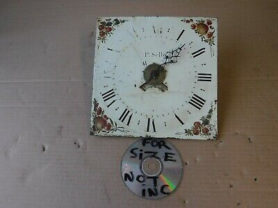 Antique  Enamel Clock  Face.  P Selby.
