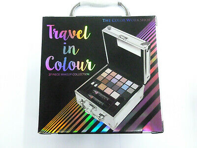 Valigetta argento Trousse trucchi make up Markwins Travel in Colour cosmetici