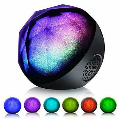 Bluetooth Speakers, VersionTECH. Mini Portable LED Colorful Wireless Loud Stereo