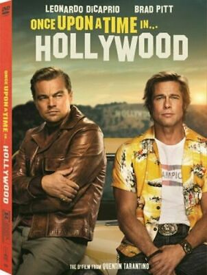 Once Upon a Time in Hollywood (DVD 2019) NEW Direct USA SELLER