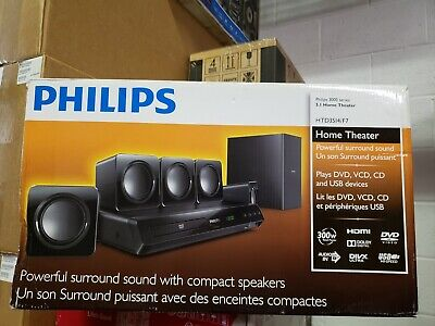 Philips HTD3514/F7 5.1 CH DVD Home Theater System