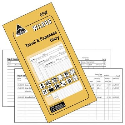 Wildon 85W Travel & Expenses Diary 33720