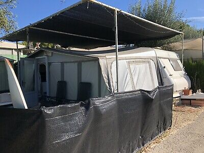 HOBBY CARAVAN AND AWNING 6 BERTH Sited In Benidorm