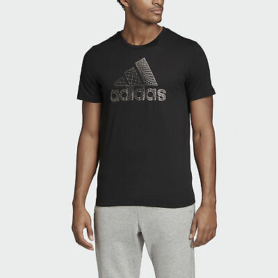 adidas Must Haves Badge of Sport Foil Tee Men's