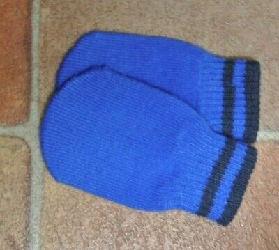 New Next Boys warm mittens Blue  3-18 months