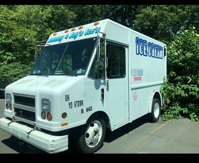 1997 GMC Utilimaster Step Van Ice Cream Food Box Truck Aluminum Diesel Short