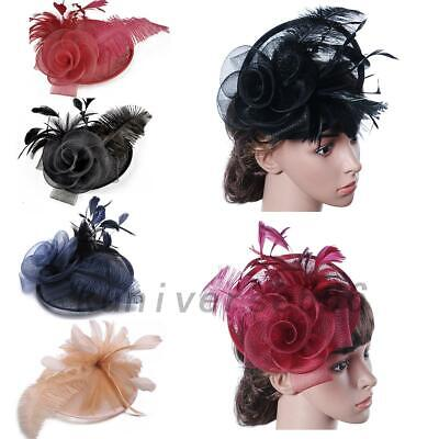 Large Headband Aliceband Hat Fascinator Weddings Ladies Day Race Royal Newest