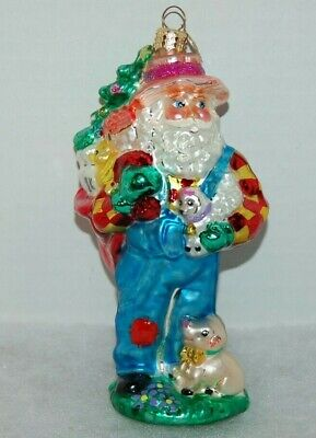 Santa Riding Elephant Ornament Christmas Katherine/'s Collection 28-62810 Red