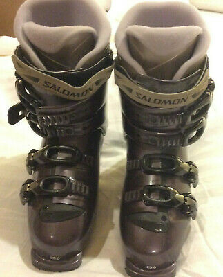 SALOMON EQUIPE PROLINK 284mm Size 24 Womens Ski Boots