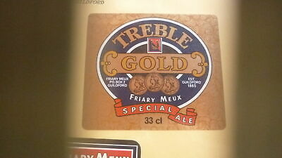 Old British Beer Label, Friary Meux Guildford, Gold Special Ale