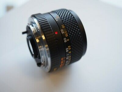 Yashica DSB 28mm f/2.8 Lens for Yashica Contax CY C/Y YC Mount