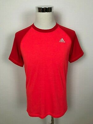 Adidas Climalite Mens Prime Tee Sports Running Gym Wear T-Shirt Shirt Tee Size M