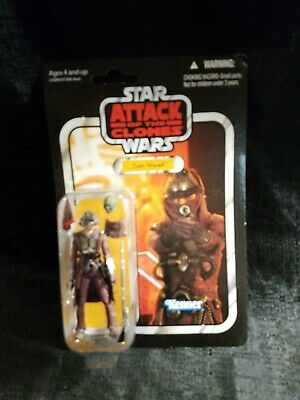 """Star Wars The Vintage Collection Zam Wesell 3.75"""" Figure VC30 New On Card"""