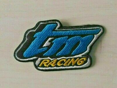 Patch écusson TM Racing cross enduro moto biker