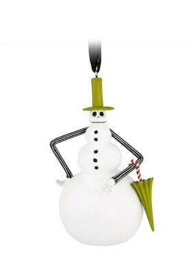 NEW Disney Parks Jack Skellington as Snowman Nightmare Before Holiday Ornament