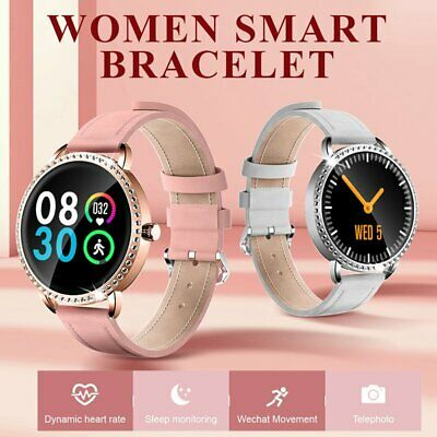 Fashion Women Lady Smart Watch Heart Rate Fitness Tracker For iOS Android Gifts