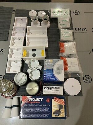 Job lot of electrical supplies (dimmers,surface boxes,switches,connection covers