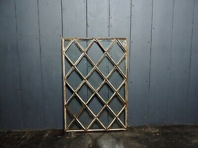 Reclaimed Antique Victorian Cast Iron Cottage Window (IW34)