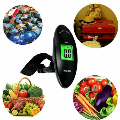 40kg/100g Travel Portable Hanging Luggage LCD Digital Electronic Weight Scale