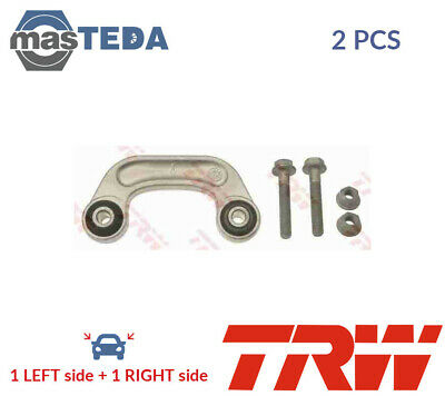 2x TRW FRONT ANTI ROLL BAR STABILISER PAIR JTS606 P NEW OE REPLACEMENT