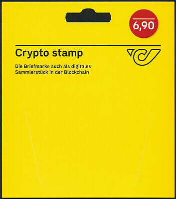 Crypto Stamp - Gelber Holder (Originalverpackung)