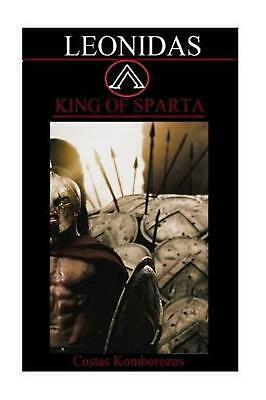 Leonidas: King of Sparta by Costas Komborozos (English) Paperback Book Free Ship