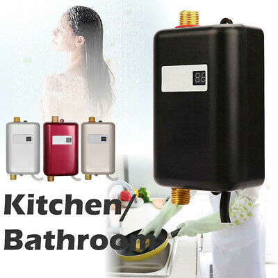 Instant Electric Mini Water Heater Tankless Shower Hot Water Heat System