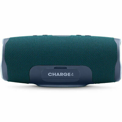 JBL Charge 4 Portable Waterproof Bluetooth Speaker - Blue