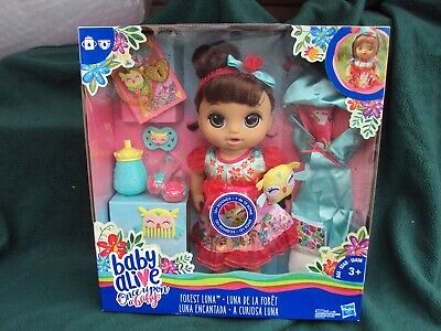 New Baby Alive Once Upon a Baby - Forest Luna , Brown Hair , Grayish Eyes , , ,