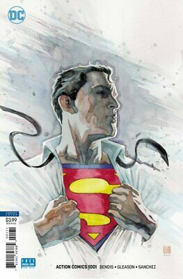 Action Comics #1001 David Mack Variant (2018) Vf/Nm Dc