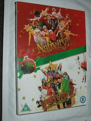 Nativity! / Nativity 2 - Danger in the Manger! DVD NEW AND SEALED