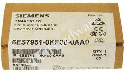 New Sealed Siemens 6ES7951-0KF00-0AA0 6ES7 951-0KF00-0AA0 SIMATIC S7 MC951 64KB