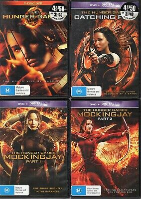 The Hunger Games COMPLETE Collection (5 Disc Set) : #OB2