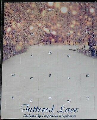 Contains 25 All Occasion Mini Dies - ADVENT CALENDAR 454438 x Tattered Lace