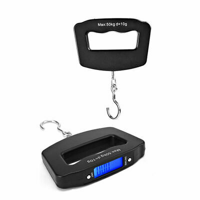 50KG Portable Electronic Digital Handheld Travel Suitcase Luggage Weight Scales