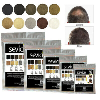 Sevich Refill Hair Fibers Keratin Building Thickening 50/100g Fibre Hair Care