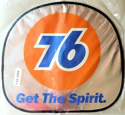 Union 76 Racing Fuel Gasoline Steering Wheel Cover Protector Get the Spirit NEW