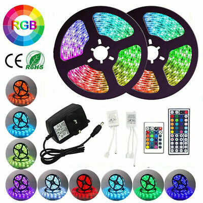 1M~10M 5050 Rgb 30 Led Strip Lights Colour Changing Flexbile Tape Lighting 12V