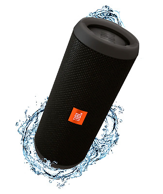 Genuine JBL Flip 3 Bluetooth Portable Wireless Speaker splashproof - Black
