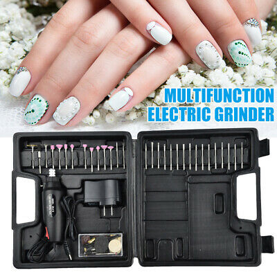 60pcs Mini Electric Drill Grinder Grinding Set Polishing Drilling Cutting Tool