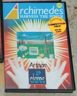 Artisan software for the Acorn Archimedes by Clares