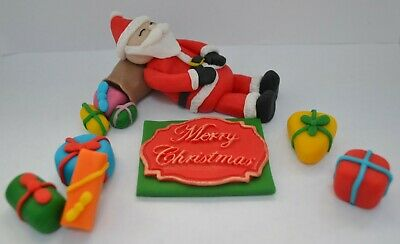 Edible Christmas Cake Decorations Uk