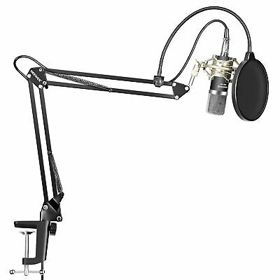 Kit Microphone Condensateur NW-700 Mic NW-35 Suspension Bras Support Pince