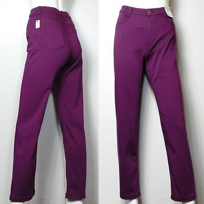 Ex M/&S Women/'s Ladies Jeans Per Una Roma Rise Slim Leg Stretchy Pants Size 8-22