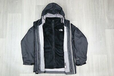 The North Face Girl's Osolita Triclimate Light Jacket With Fleece
