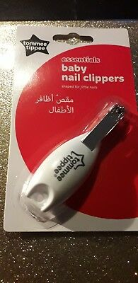 Tommee Tippee Newborn Baby Infant Manicure Safety Nail clippers Cutter Grooming