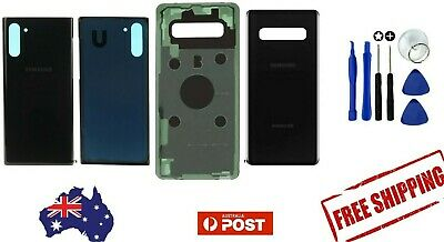 Samsung Galaxy Note 10 s10 10+ 10e 10 5G Glass Replacement Housing Battery Cover