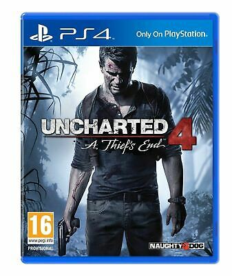 Uncharted 4 : A Thiefs End PS4 New, Sealed and Free UK shipping