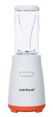 nutrifresh Smoothie Mixer Standmixer Smoothie Maker 600 Watt 600ml 2 Messer