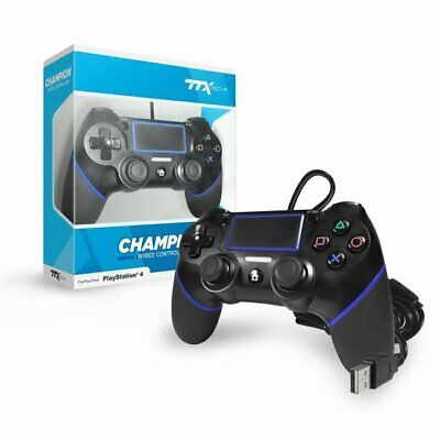 Joystick Pro Champion Wired Controller Usb Ps4 Nuovo Dualshock 4 Compatibile